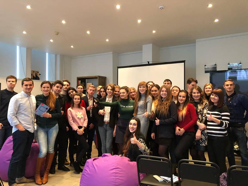 Ганна Крисюк зустрілась з молоддю Мінінформполітики України