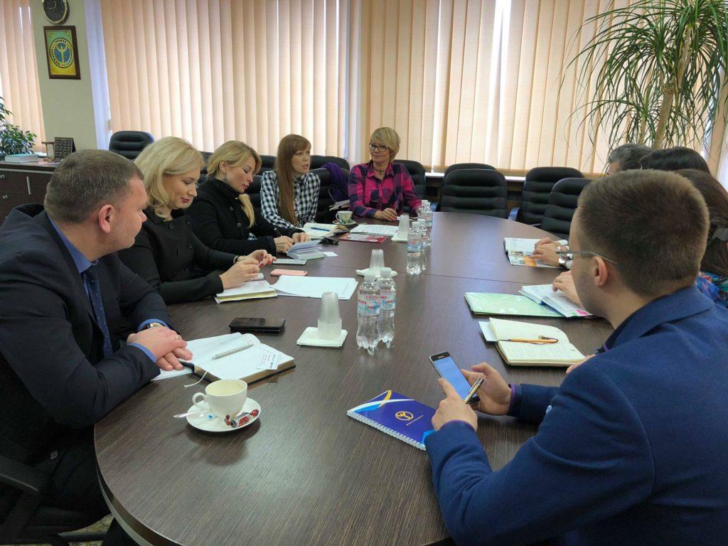 Представники оргкомітету бізнес-форуму «БізнесWoman2018» провели зустріч з керівництвом Державної служби зайнятості