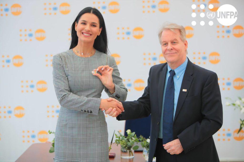 Марія Єфросиніна стала Почесним Послом Фонду ООН