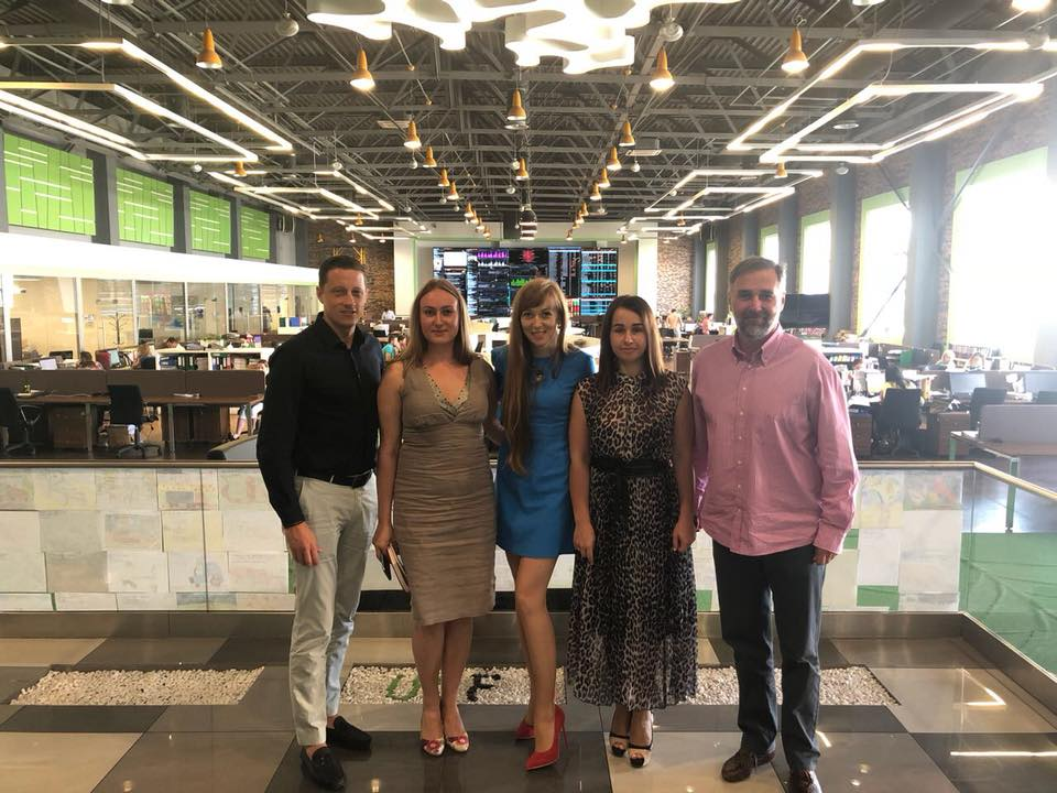 Співвласники компанії East West Mentor UA відвідали офіс компанії UkrlandFarming