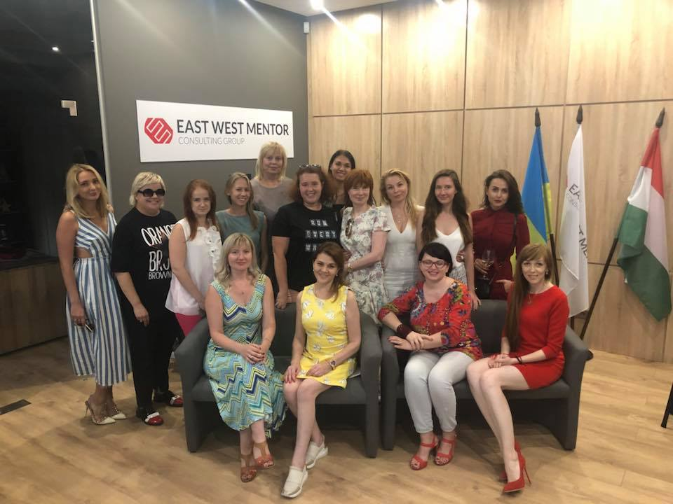 В офісі компанії East West Mentor UA відбулась зустріч успішних жінок України