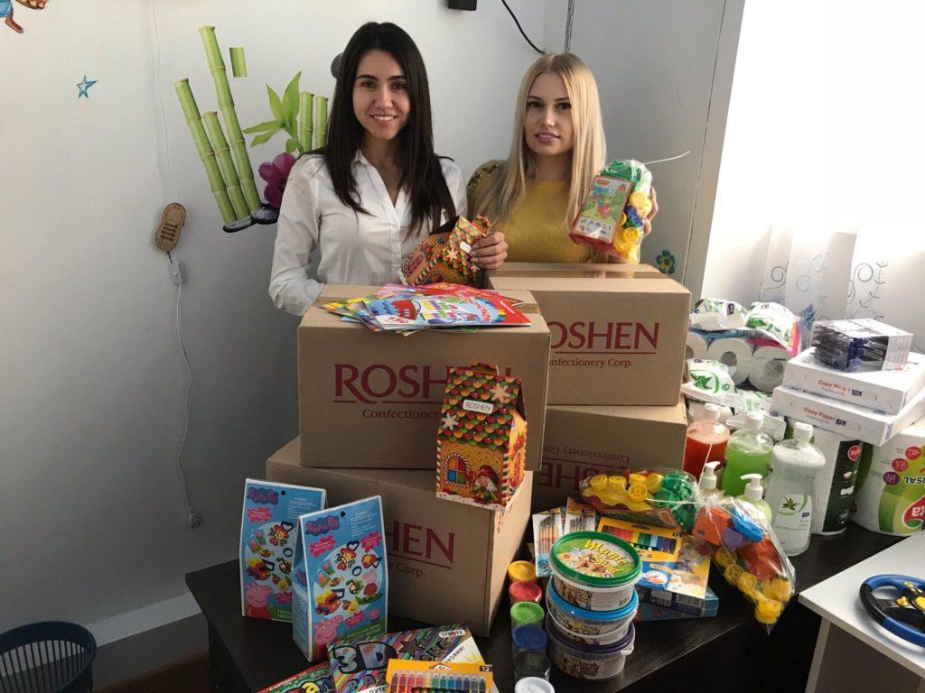 Вихованці Центру соціальної реабілітації та діагностики отримали подарунки від Ірини Верещук