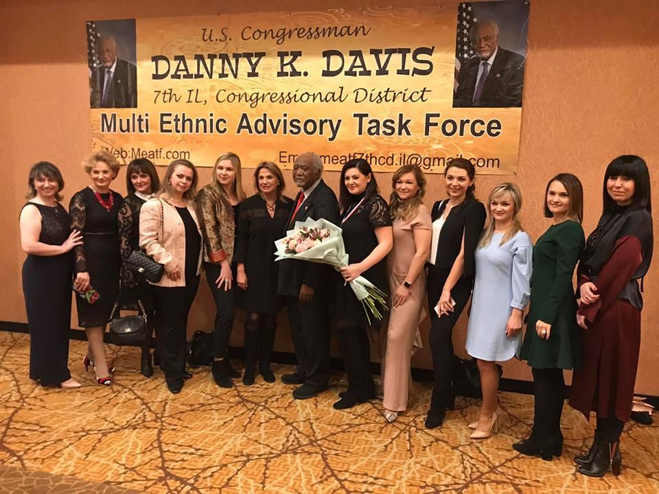 Українську благодійницю відзначили нагородою в Іллінойсі