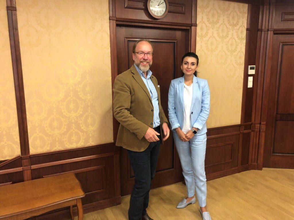 У ТППУ відбулась ділова зустріч Геннадія Чижикова з Вікторією Запарою