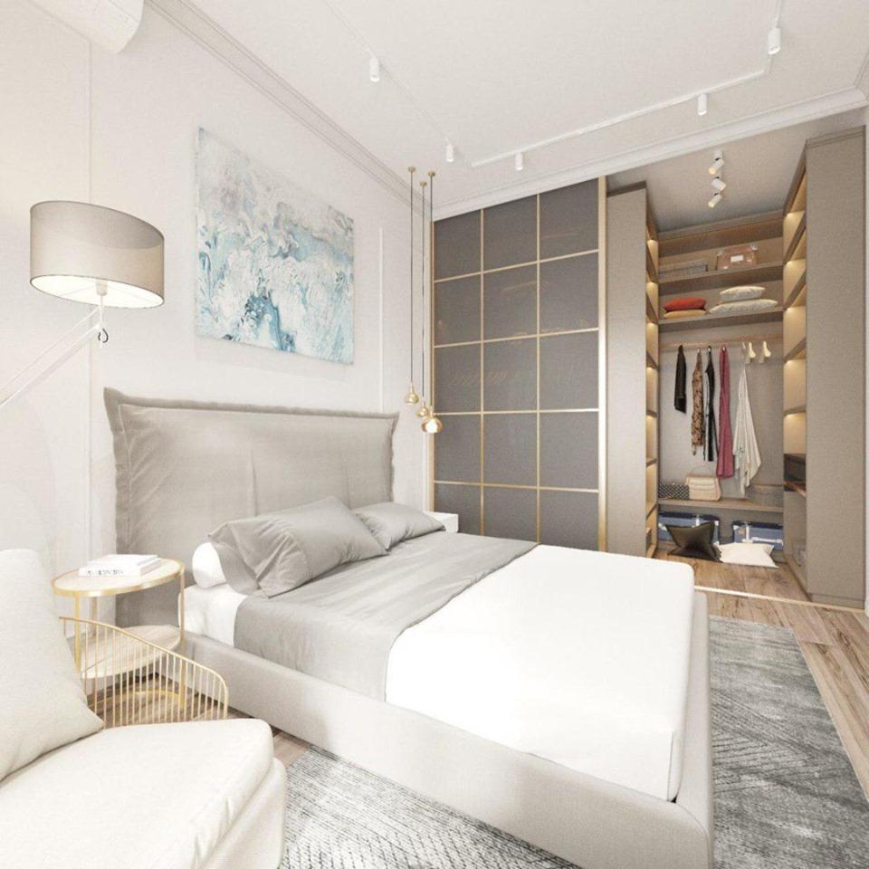 Інтер'єр спальні від RIO DESIGN